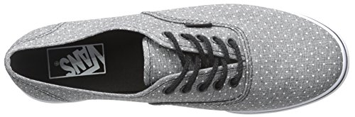 Vans Unisex Authentic (tm) Lo Pro Sneaker (Chambray Dots) Schwarz