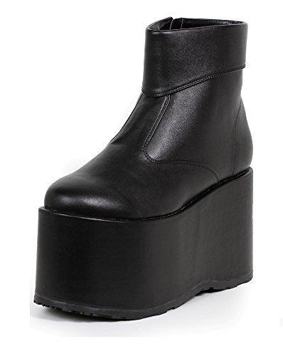 Ellie Shoes Men's Platform Ankle Boot L SLV