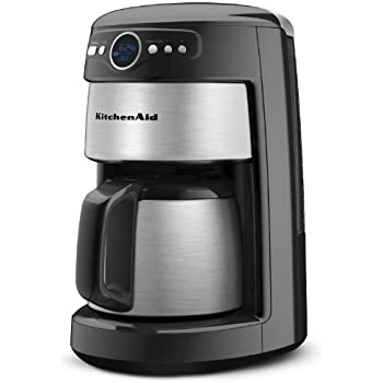 kitchenaid 10 cup thermal carafe coffee maker drip coffeemakers kitchen dining. Black Bedroom Furniture Sets. Home Design Ideas