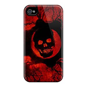 Waterdrop Snap-on Gears Of War 3 Game Official Case For Iphone 4/4s