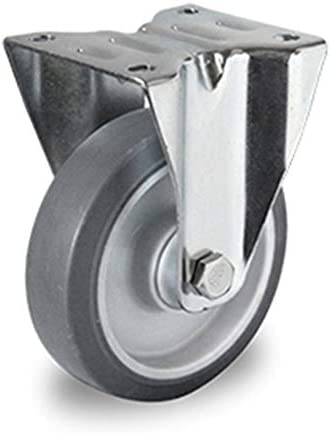 Rollensatz 2 Lenkrollen 2 Bockrollen 100 mm TPE /…