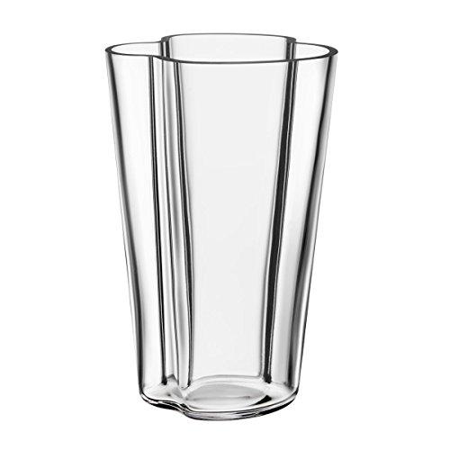 - Iittala Alvar Aalto Collection Glass Vase 220 mm, Clear