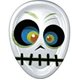 Skeleton Face Shape Plate (8ct)
