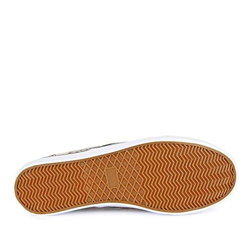 Baskets fitters carla beige aspect peau de serpent