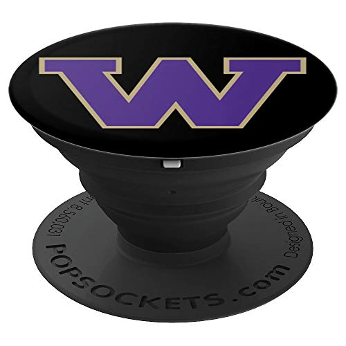PopSockets: Letter W Washington State Fan Pride Gift - PopSockets Grip and Stand for Phones and ()