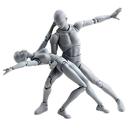 Uranny Body-Chan Model, Body Kun Doll PVC Body-Chan DX Action Play Art Figure Model Drawing For SHF