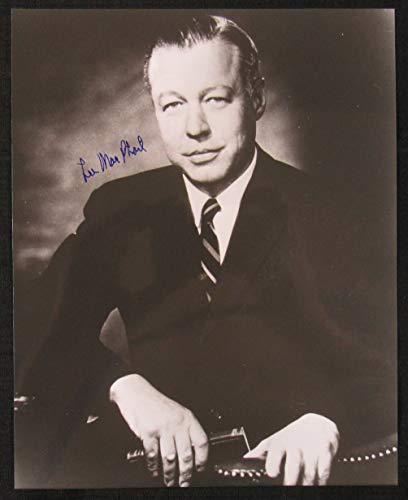- Lee MacPhail Signed Auto Autograph 8x10 Photo
