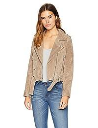 [BLANKNYC] Womens Suede Moto Jacket