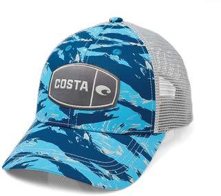 Costa Del Mar - Costa Tiger Camo Trucker - Blue ()