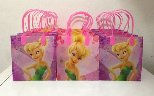(Disney Princess Tinkerbell Party Favor Goodie Small Gift Bags)