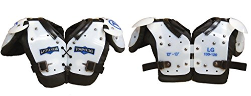 TAG Battle Gear II Youth Football Shoulder Pad X-Large Shoulder (15-16in) Body Weight (120-150lbs)