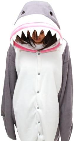 Tiburón - Todo en un disfraz para adultos - Onesie Kigurumi ...