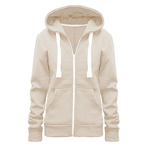 Vanilla ink - Sudadera con capucha - para mujer crema