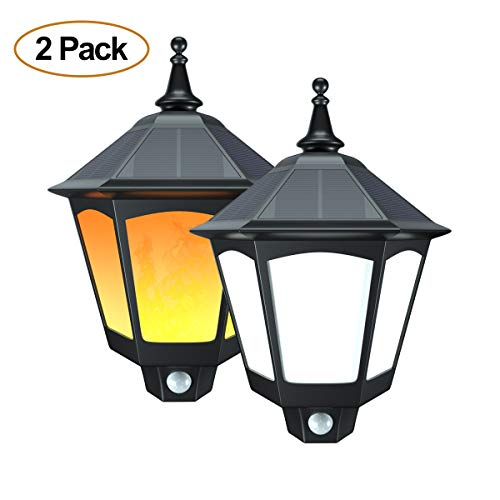 Outdoor Motion Light Sconce