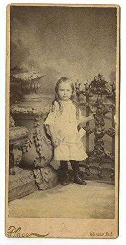19th Century Children - 19th Century Oversized Cabinet Card Photo - Warsaw, -