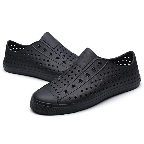 Moda Jojonunu Black Plano Sandalias Hombres BTSxZqX