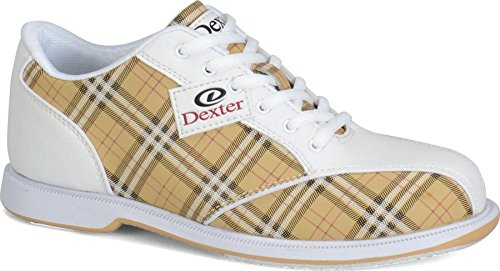owling Shoes, Tan, 8 (Dexter Bowling Shoes Women)