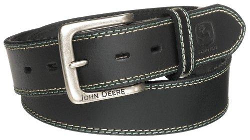 John Deere Men's 38mm Belt,Black,34