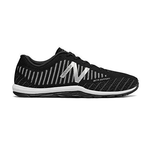 Cheap New Balance Men's 20v7 Minimus Training Shoe, Black/White, 10.5 D US