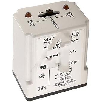 Macromatic TR-61826, Relay; E-Mech; Alternating; SPDT; Cur-Rtg 10A on