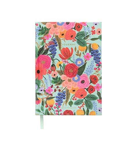 Rifle Paper Garden Party Everyday Fabric Journal Hardcover Notebook ()