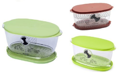 Progressive International Ultimate Keeper Set   Collapsible Produce  Fruit And Vegetable And Berry Keeper  Set Of 3