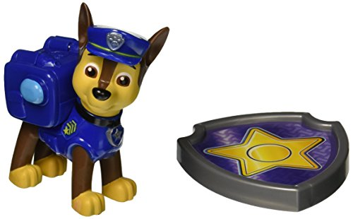 Nickelodeon, Paw Patrol - Action Pack Pup & Badge - Chase (Paw Patrol Badges)