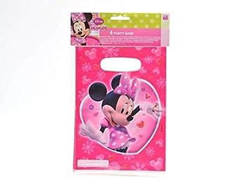 ALMACENESADAN 33514, Pack 6 Bolsas partybags Disney Minnie ...