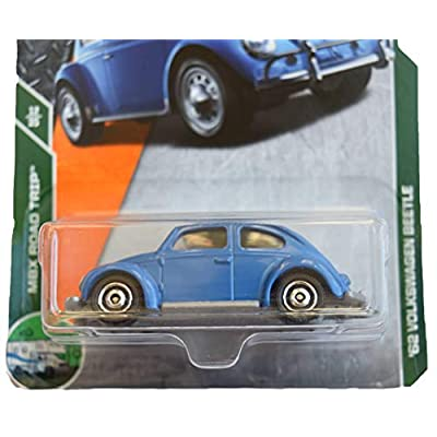 Matchbox Road Trip 12/35 '62 Volkswagen Beetle 16/125, Blue: Toys & Games