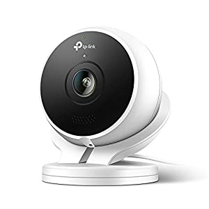 Kasa Cam 1080p Smart Home Security Camera by TP-Link, KC120, Works with Alexa (Echo Show/Fire TV), Google Assistant (Chromecast) from TP-LINK
