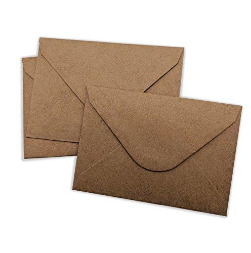 100 pack gold mini envelopes gift card envelopes business card elegant mini envelopes brown kraft 100 pack 4 x 275 gift card envelope colourmoves