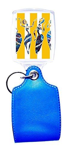 Llavero azul étnico 11: Amazon.es: Hogar
