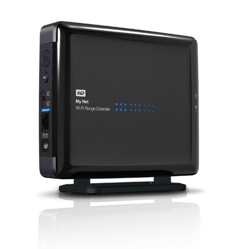 WD My Net Wi-Fi Range Extender - Dual-band Wireless N 450Mbp