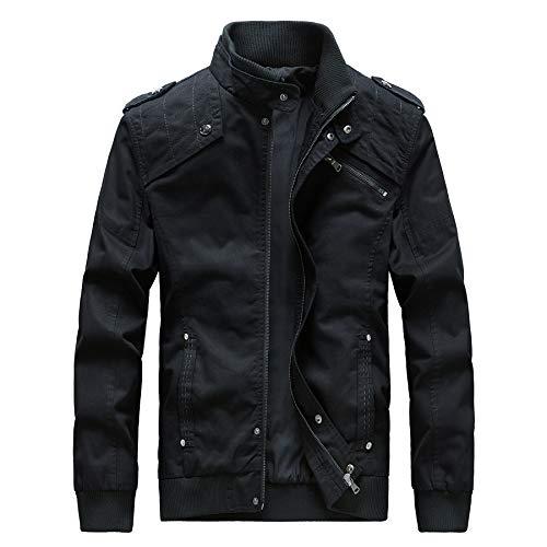 (Casual Outdoor Windproof Coat Windbreaker Military Jackets for)