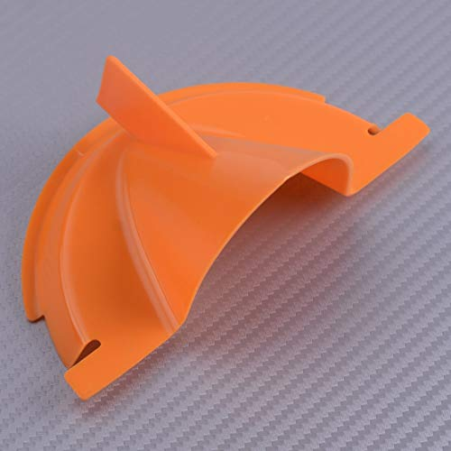 (Cacys-Store - Orange Motorcycle Primary Case Oil Fill Funnel Fit For Evolution Dyna Softail Touring Trike)