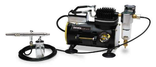(Iwata-Medea Studio Series Sprint Jet Single Piston Air Compressor )