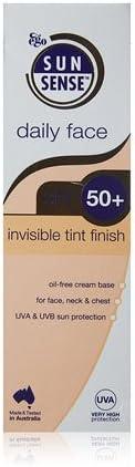 Sunsense Diaria SPF50 Cara invisible Tinte Finalizar Bloqueador solar - 75 g