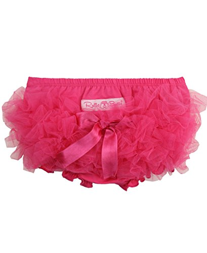 RuffleButts Baby/Toddler Girls Candy Frilly Ruffled Bloomer - 0-3m