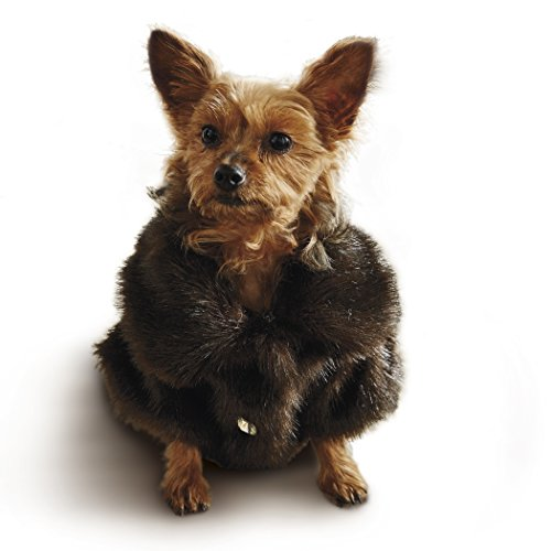 Frontgate Faux Fur Pet Jacket, Channeled Mink, ()