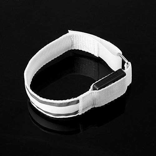 Dunnomart Reflective LED Light Armband Arm Strap Safety Belt for Night Cycling Running
