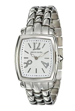 Pierre Cardin Damen-Armbanduhr Analog Quarz Edelstahl PC102072F09
