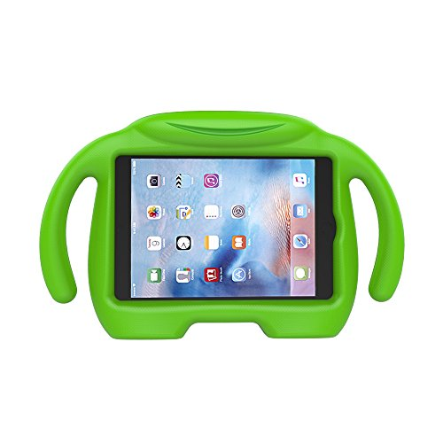 LEDNICEKER Kids Case for iPad Mini 1 2 3 4 5 - Light Weight Shock Proof Handle Stand Kids Friendly for iPad Mini, Mini 5 (2019), Mini 4, Mini 3rd Generation, Mini 2 Tablet - Green (Ipad 3 Tuff Case)