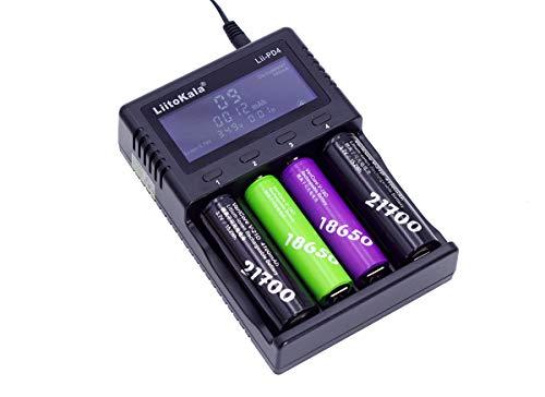 Amazon.com: LiitoKala LII-PD4 - Cargador de batería ...