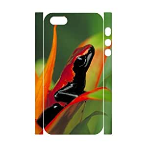 Iphone 5,5S 3D DIY Phone Back Case with frog Image