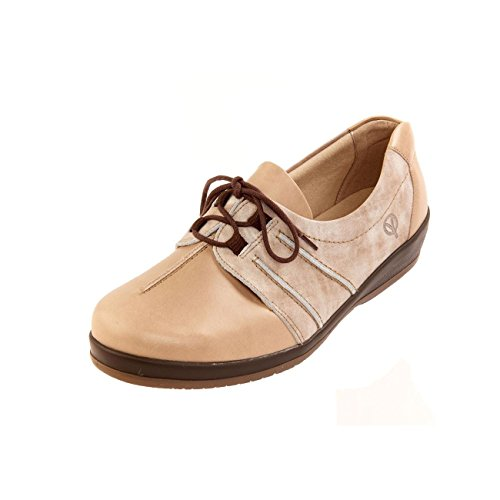 mist Extra 4e 'easham' amp; slip Deep Toe Wide Underfoot Women's Shoe Support Sole Non 6e Fit Beige Sandpiper Box fYtnUqEE