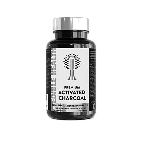 Activated Charcoal Capsules, Gas, Bloating Relief Tablets, Indigestion, Detox, Toxins, Spots, Teeth Whitening, HIGH…