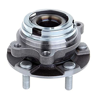 TUPARTS 513310 Wheel Bearing and Hubs Front Compatible with Nissan Murano 2003-2007 Nissan Quest 2004-2009 W/O ABS Sensor: Automotive