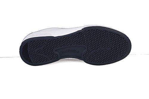 Reebok Npc Ii, Zapatillas de Tenis Unisex Niños Blanco (White / Collegiate Navy)