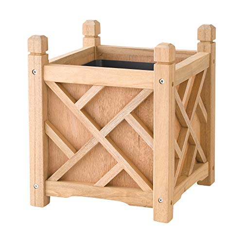 DMC Products 70201 Chippendale Planter, 14-inch, Natural