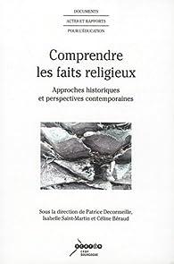 Comprendre les faits religieux par Patrice Decormeille